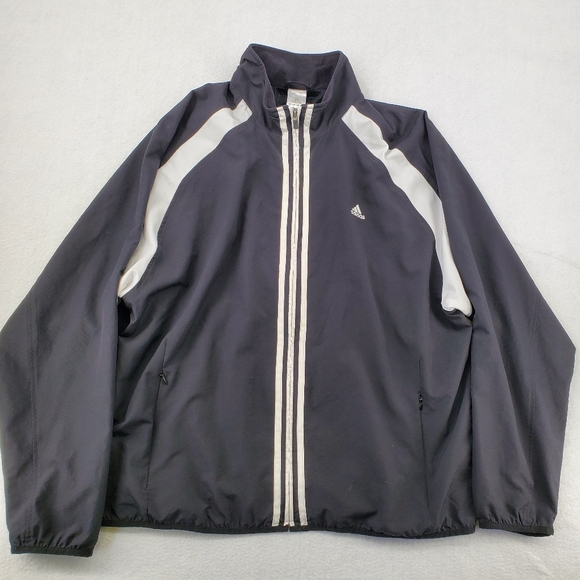 Adidas Track Zip Up Jacket XL Climaproof